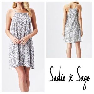 Sadie & Sage | Patterned dress